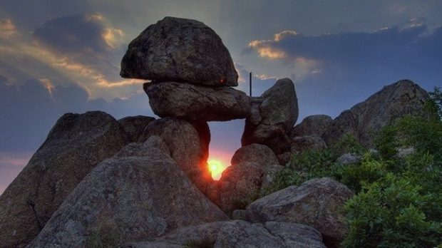 puesta sol montana cielo viajes espirituales para re encontrarte bulgaria en junio e india en j ID203681 - hermandadblanca.org