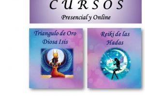 Cursos: Reiki de las Hadas y Triángulo de Oro Diosa Isis – Presencial en Barcelona y Online durante todo el año 2019