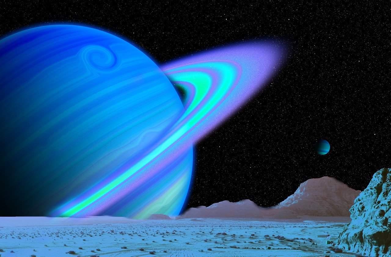planeta del dios urano