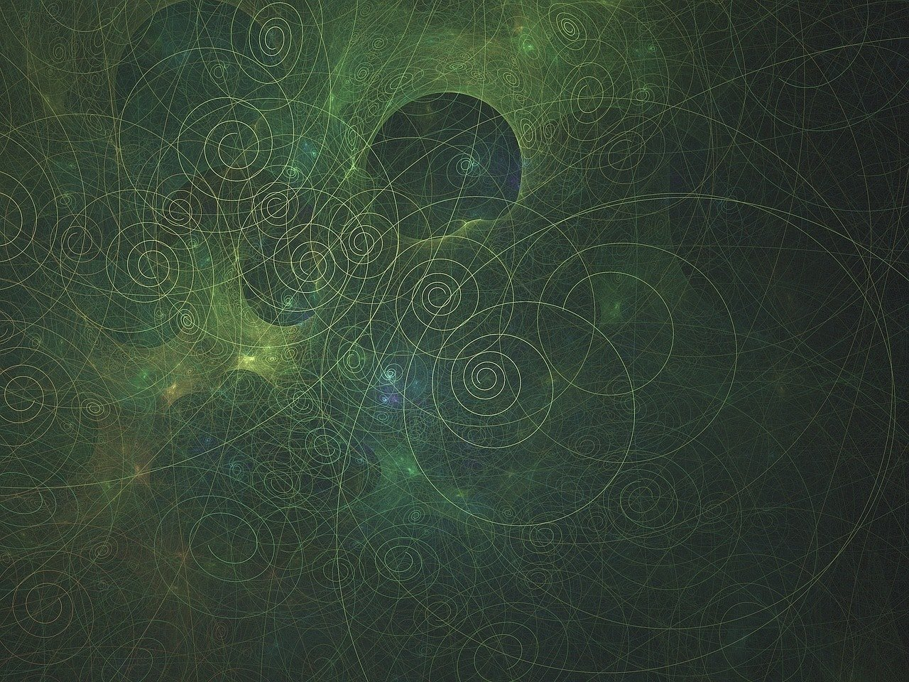 geometría sagrada fractal