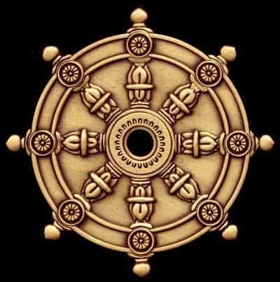 rueda de dharma símbolos energéticos positivos, ¡símbolos sagrados para el poder p ID208885 - hermandadblanca.org