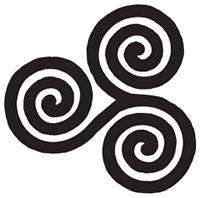 the triade triskele o triple spira símbolos energéticos positivos, ¡símbolos sagrados para el poder p ID208885 - hermandadblanca.org