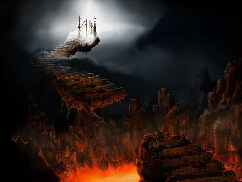 Paraíso, Purgatorio, Infierno. Nueve círculos del infierno