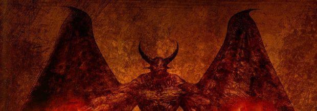 Satanás en el fondo de los nueve círculos del infierno