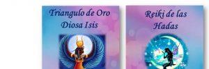 flyer front cursos reiki hadas triangulo oro diosa isis presencial barcelona onlin i214345