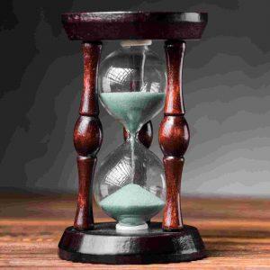 reloj de arena - El presente es el único tiempo que existe