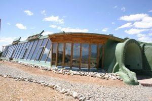 Casas Earthship, una manera sustentable de vivir