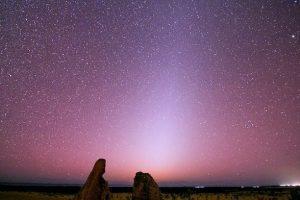 Luz zodiacal: cómo y cuándo ver este maravilloso resplandor nocturno