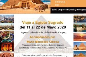 Viaje a Egipto Sagrado en Mayo 2020 con Mercedes Cibeira