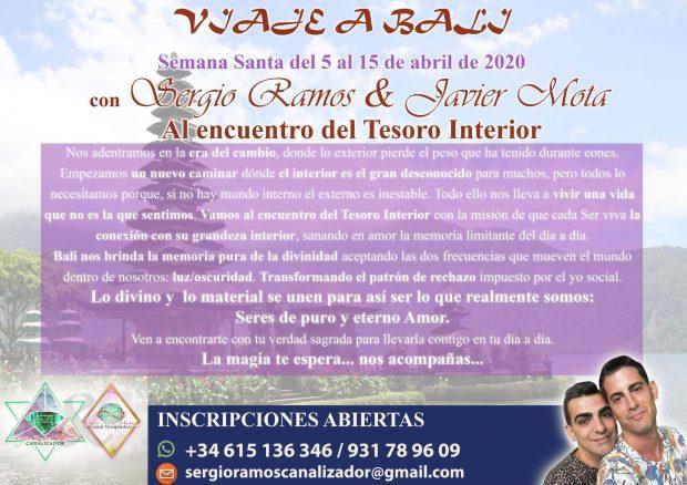 sergio ramos flyer viaje a bail semana santa 2020 al encuentro del tesoro interior 5 al 1 i217750