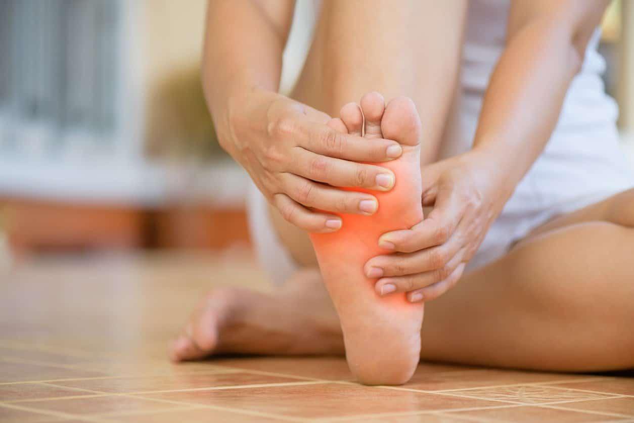 Cómo masajear los pies