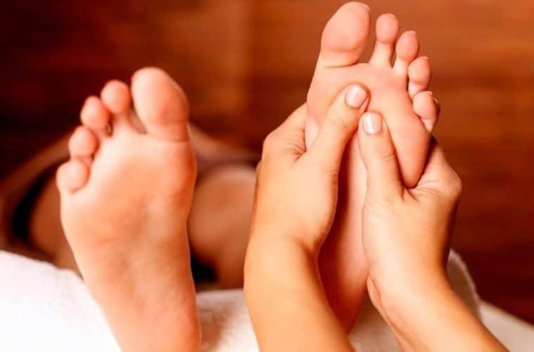 trazos de acabado como masajear los pies 12 tecnicas de relajacion y alivio del dolo i221555