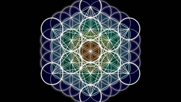 flor de la vida geometria hexagonal compendio de geometria sagrada 8211 original i174663