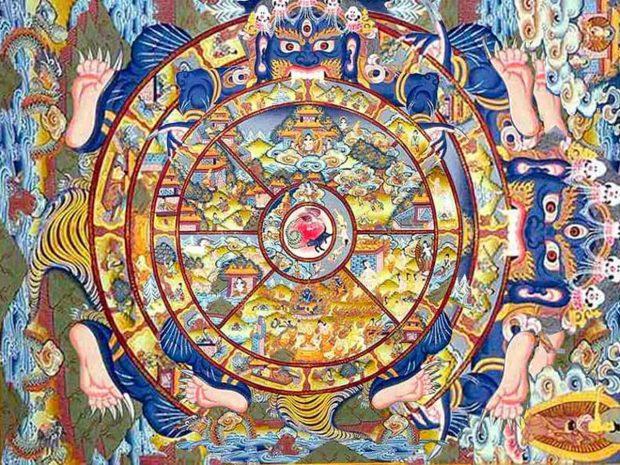 la rueda del samsara compendio de geometria sagrada 8211 original i174663