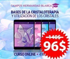 curso campus hermandad blanca cristaloterapia terapia alternativa cuarzo cristales