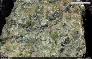 dunita roca ignea
