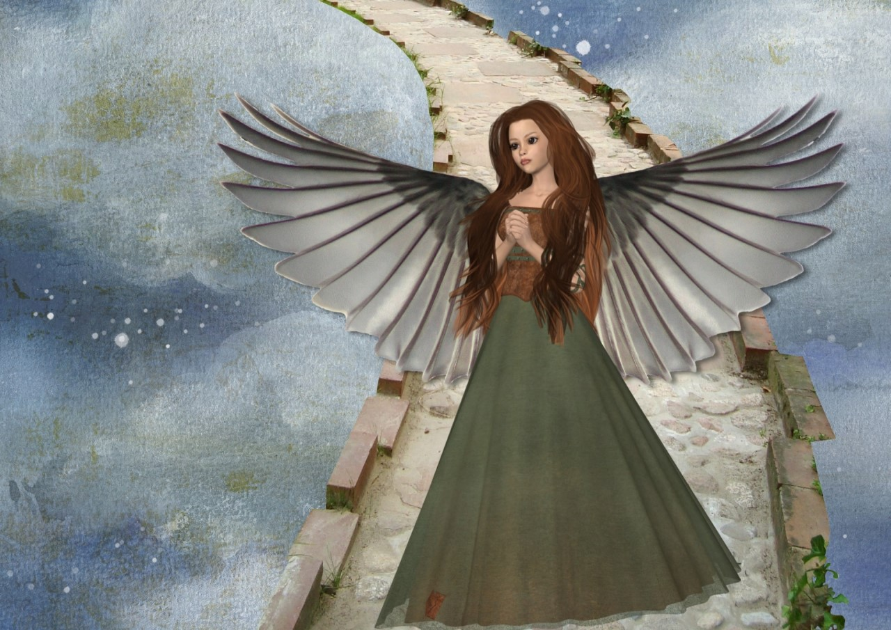 angel fantasy on clouds la danza del impulso y la rendicion un mensaje de los angeles i238932